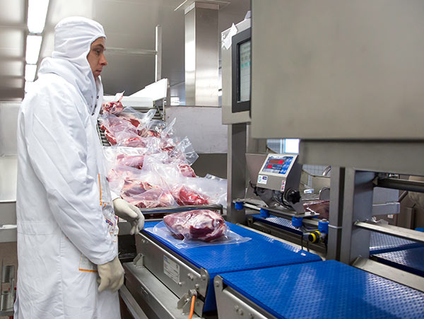 Fleischverarbeitung bei Goedegebuur