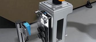 Robot vision image