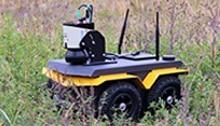 image robot-lidar en exterieur