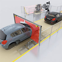 portail-microscan-application-verticale-voiture