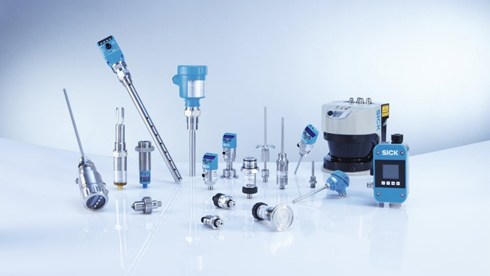 Wide range of fluid sensors from SICK