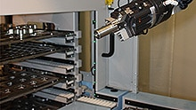 Modular safety system for automation solutions used in mobile machine tools