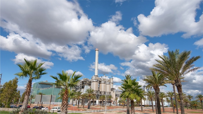 TERSA group plant in Sant Adrià del Besòs near Barcelona in Spain