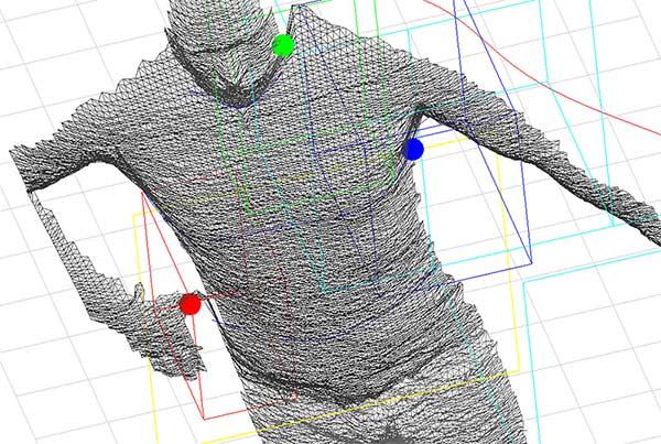 Bodyscanning CRM Körpermessgerät