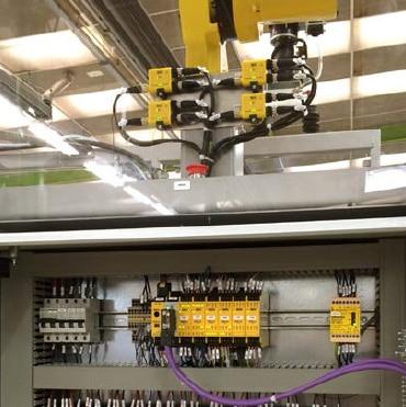 Sichere Sensorkaskade Flexi Loop und Sicherheits-Steuerung Flexi Soft