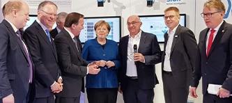 Angela Merkel Hannover Messe