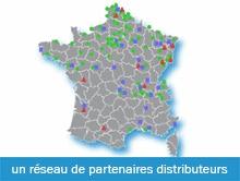 Des Distributeurs sur toute la France