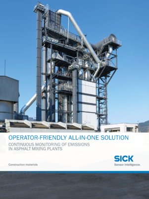 OPERATOR-FRIENDLY ALL-IN-ONE SOLUTION - Construction materials