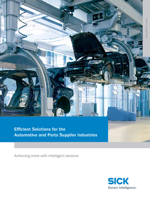 Efficient Solutions for the Automotive and Parts Supplier Industries