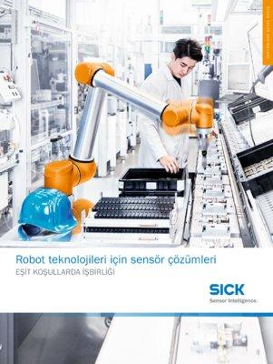 Robot teknolojileri için sensör çözümleri