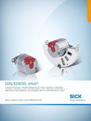EDS/EDM35, sHub Motor feedback system rotary HIPERFACE DSL®