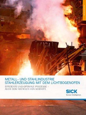 Metall - und Stahlindustrie, Stahlerzeugung mit dem Lichtbogenofen