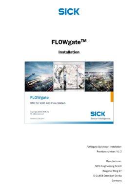 FLOWgate Intallation