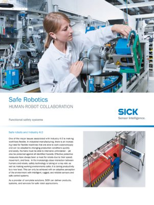 Safe Robotics Human-robot collaboration