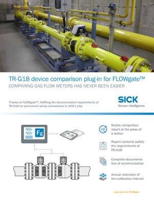 FLOWgate™ Plug-in Gerätevergleich TR-G18