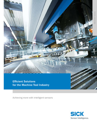 Sensor Technology Solutions for the Machine Tool Industry