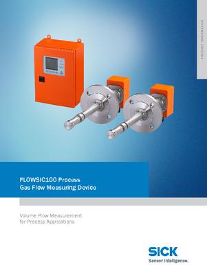 FLOWSIC100 Process Volume Flow Measuring Device