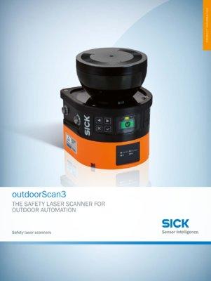 outdoorScan3 Safety laser scanner