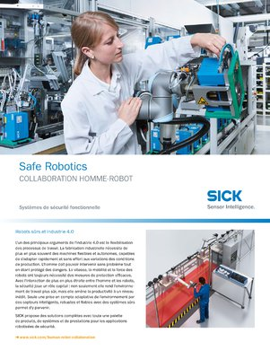 Safe Robotics Collaboration homme-robot
