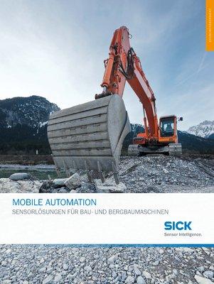Mobile Automation - Sensorlösungen für Bau- und Bergbaumaschinen