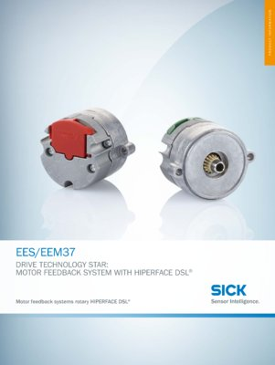 EES/EEM37 Motor feedback system rotary HIPERFACE DSL®