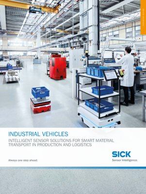 Efficient solutions for material transport vehicles in factory and logistics automation