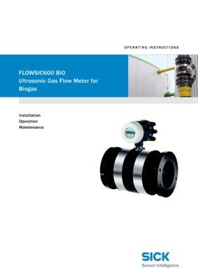 Gas flow meters   FLOWSIC600   SICK