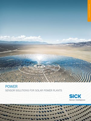 POWER - SENSOR SOLUTIONS FOR SOLAR POWER PLANTS