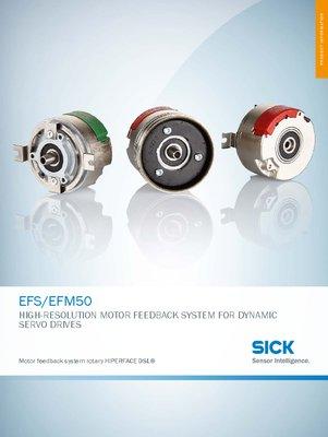 EFS/EFM50 Motor feedback system rotary HIPERFACE DSL®