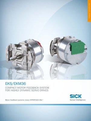 EKS36/EKM36 Motor Feedback Systems Rotary HIPERFACE DSL®