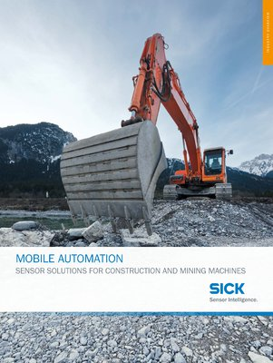 Mobile Automation - Sensor solutions for construction and mining machines