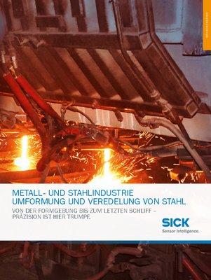 Metall- und Stahlindustrie, Umformung und Veredelung von Stahl