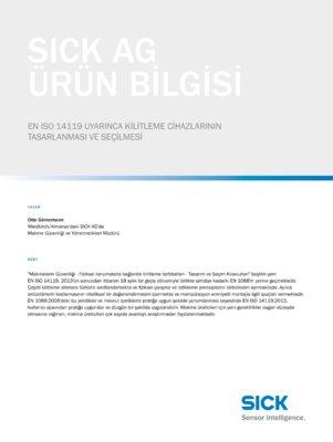 EN ISO 14119 UYARINCA KILITLEME CIHAZLARININ TASARLANMASI VE SEÇILMESI