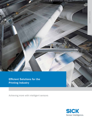 Efficient Solutions for the Printing Industry