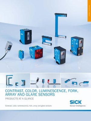 Registration Sensors Products at a Glance