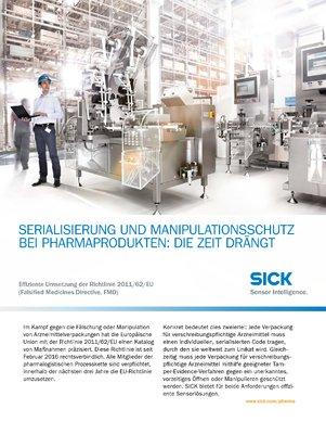 Serialisierung und Manipulationsschutz bei Pharmaprodukten: Die Zeit drängt