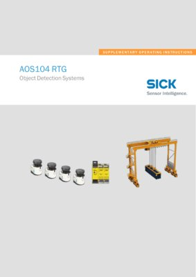 AOS104 RTG Object Detection Systems