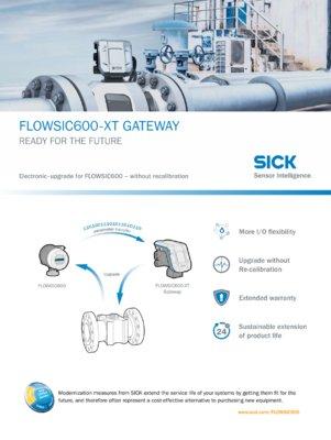 FLOWSIC600-XT GATEWAY READY FOR THE FUTURE