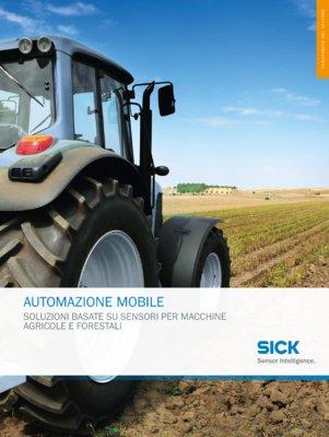 AUTOMATZIONE MOBILE -SOLUZIONI BASATE SU SENSORI PER MACCHINE AGRICOLE E FORESTALI