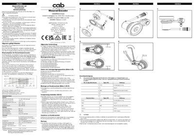 DBV50 Core Measuring wheel encoders