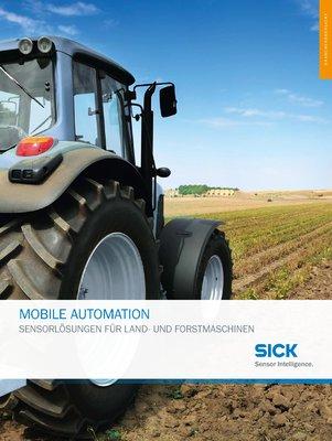 Mobile Automation - Sensorlösungen für Land- und Forstmaschinen