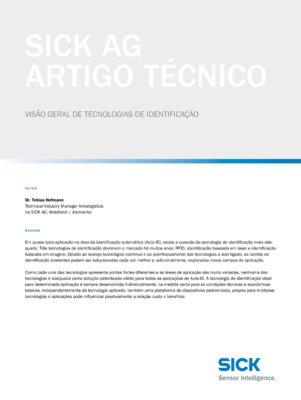 VISÃO GERAL DE TECNOLOGIAS DE IDENTIFICAÇÃO