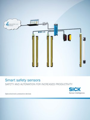 Smart safety sensors - Opto-electronic protective devices