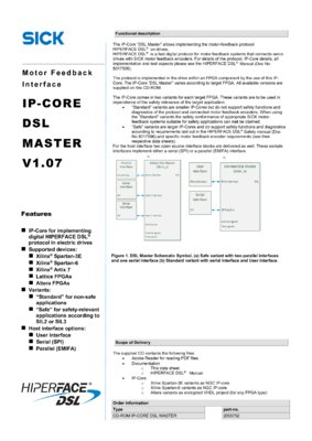 IP-Core DSL Master V1.07